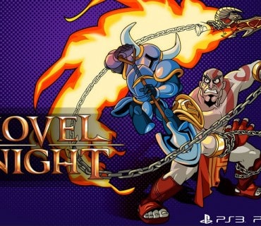 God of War Kratos Shovel Knight