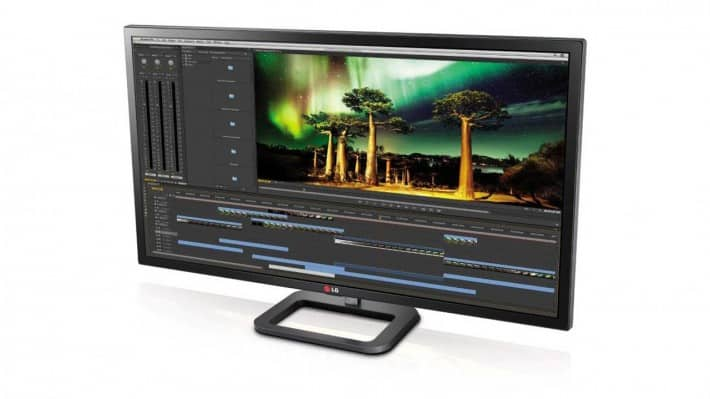 LG 4K Monitor with Thunderbolt 2 Port