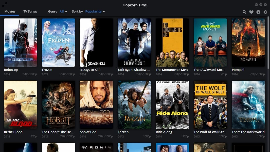 Popcorn Time on iOS
