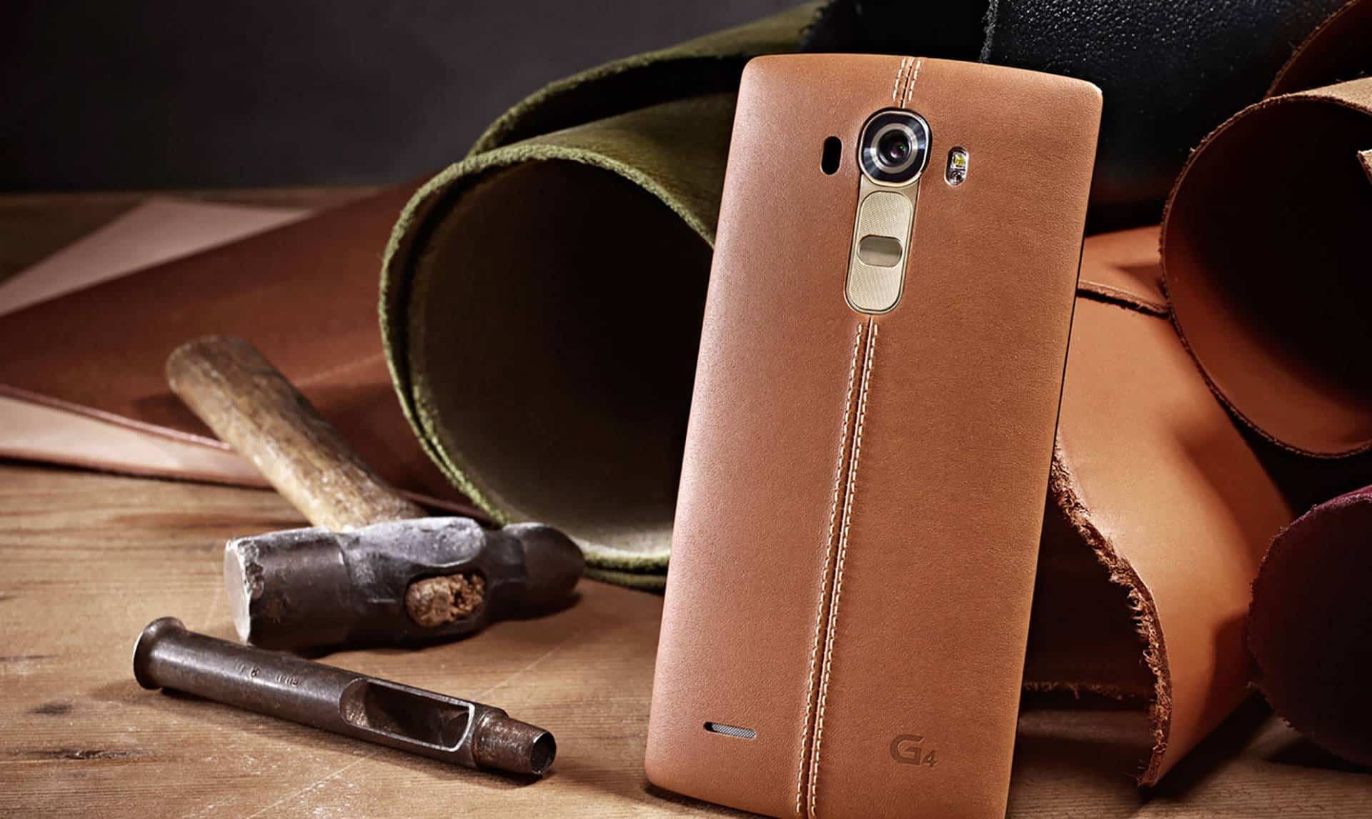 LG G4 Leather Cover Video