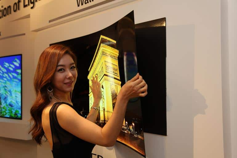 LG Wallpaper OLED TV