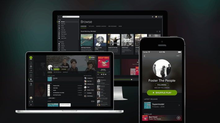 Spotify Video Streaming Service