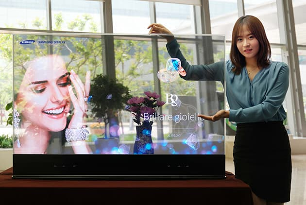 Samsung OLED televisions