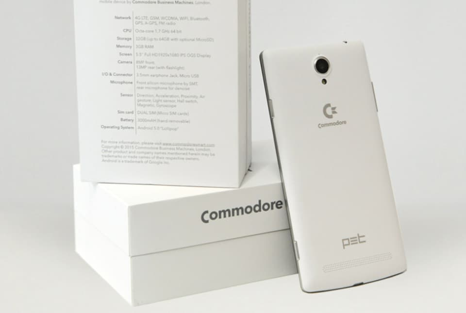 commodore 64 PET Phone