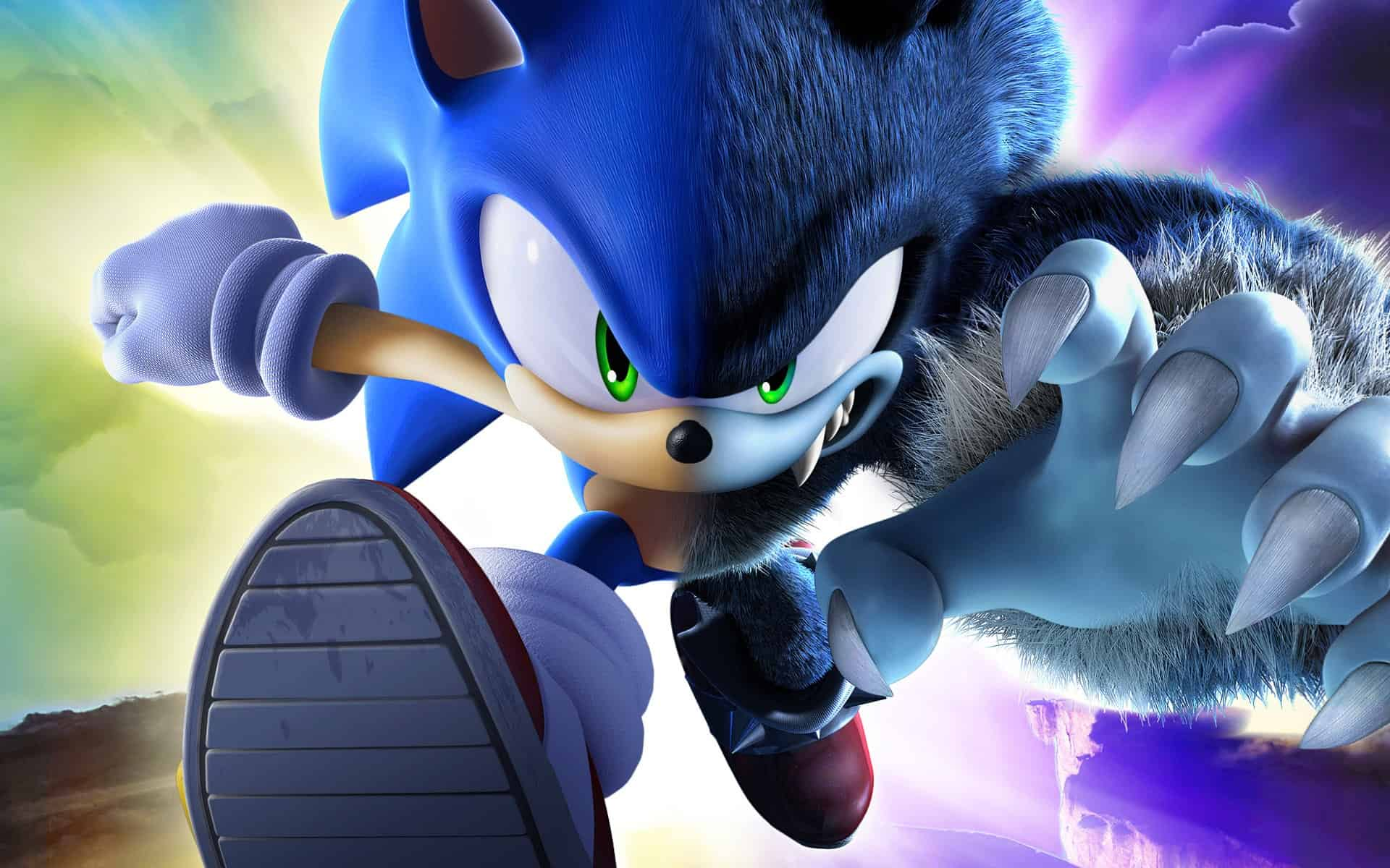 Sonic on Unreal Engine 4