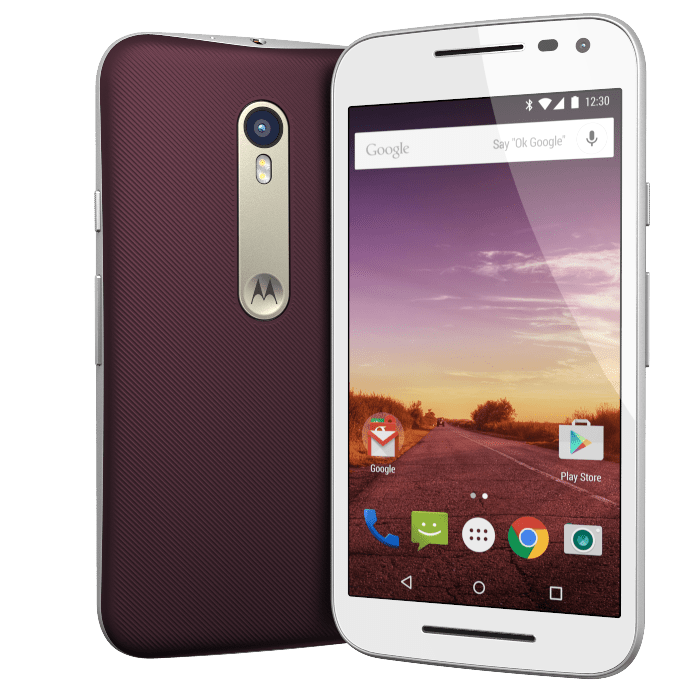 Moto G 3rd Gen Brown Panel