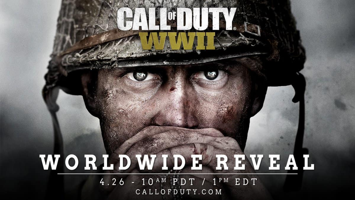 Call of Duty World War II Worldwide Reveal