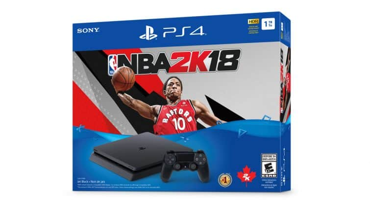 NBA 2K18 PS4 Bundle - Gadgetsngaming