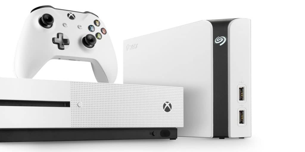 Seagate Brings a White 8TB External Drive for Xbox One S