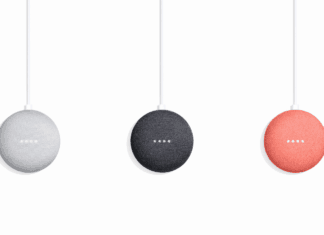 Google Home Mini Chalk, Charcoal, Coral-gadgetsngaming