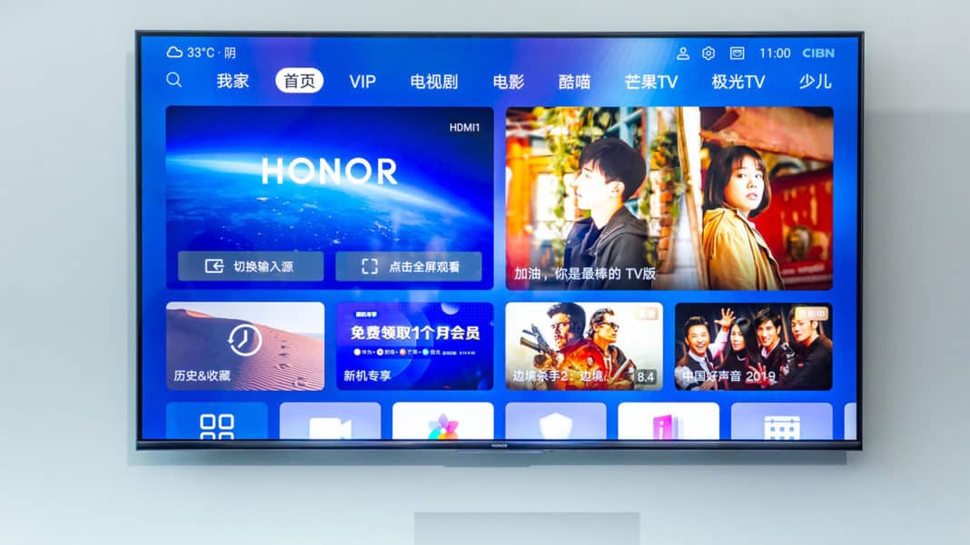 Huawei Honor Vision TV Harmony OS